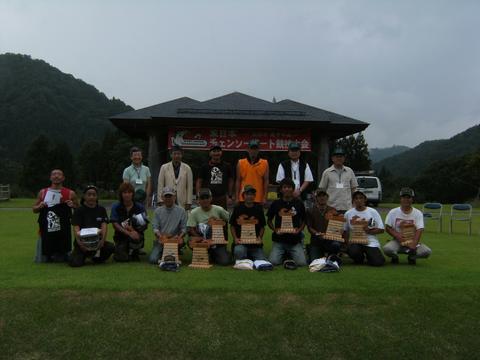 第3回東日本チェンソーアート競技大会準優勝